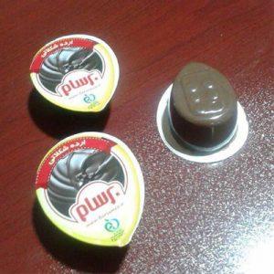 بسته بندی کرم کاکائو با دستگاه فرم فیل سیل