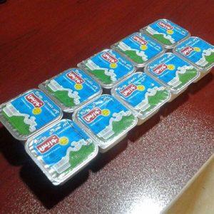 بسته بندی پنیر خامه ای با دستگاه فرم فیل سیل